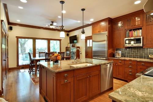 Craftsman Style Kitchens Design Pictures Remodel Decor And Ideas