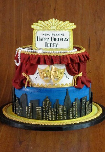 Musical Theatre Themed Cakes