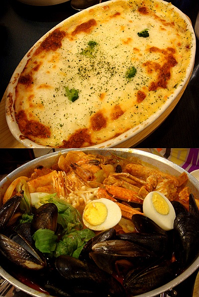 Seafood gratin & spicy seafood stew | Food | Pinterest