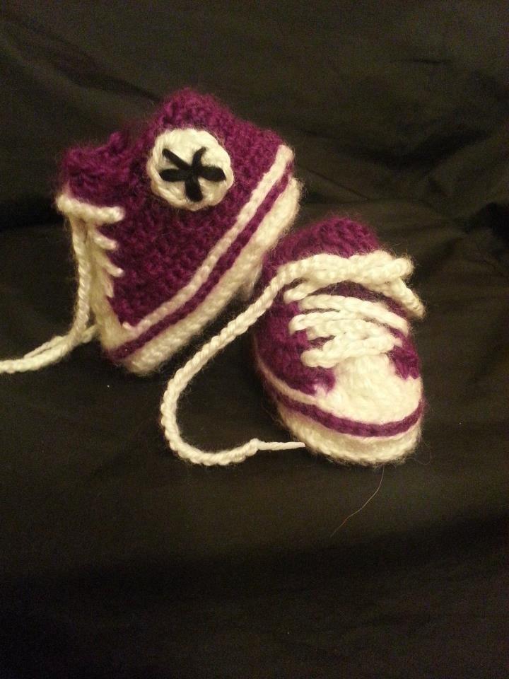 Infant Converse Shoes. $20.00, via Etsy