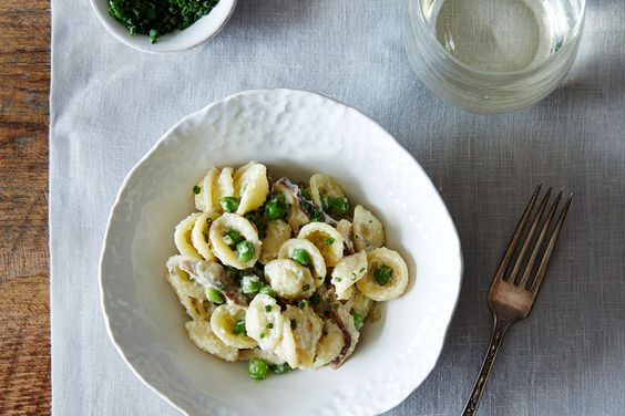 Creamy Spring Pasta with Shiitake Mushrooms and Peas on Food52 In this ...