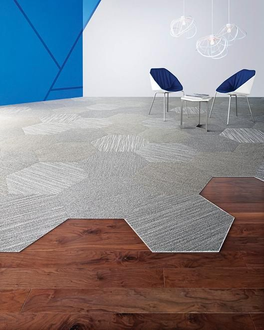 Hexagon carpet tile shaw products i love pinterest for Contract flooring