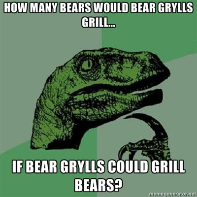 how much wood would bear grills grill if bear grill could chuck bears