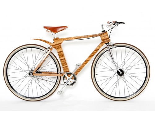 normally impressed by a bike, but this one... Wow! Flat Frame Zebrano ...