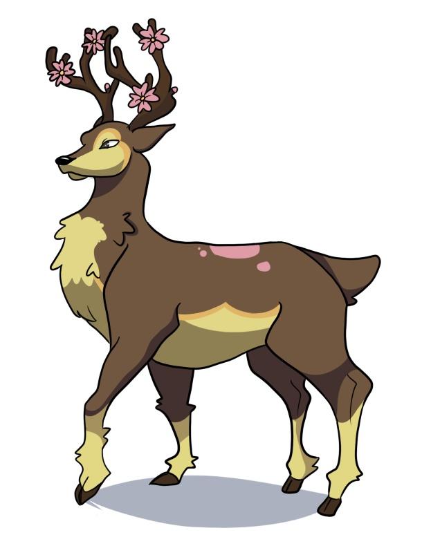 Sawsbuck Pokemon Collectors Wiki