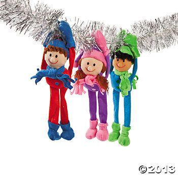 ... Long Arm Winter Kids | Jubilee Christmas tree decorations | Pin