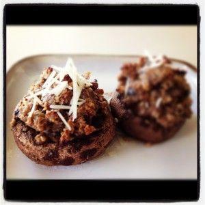 Spicy Stuffed Portabellas | Favorite Recipes | Pinterest