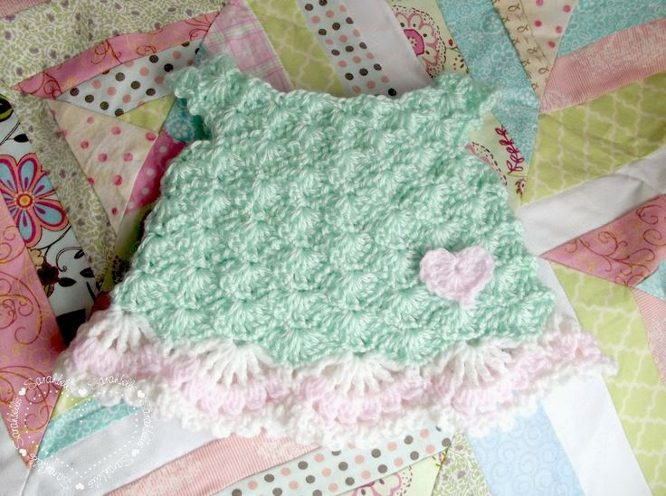 Free Crochet Preemie Baby Dress Patterns : Free Pattern - Preemie Spring Dress { Crochet - Baby ...