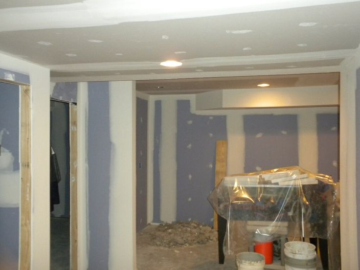 board mold and water resistant drywall over magic wall before paint. Black Bedroom Furniture Sets. Home Design Ideas