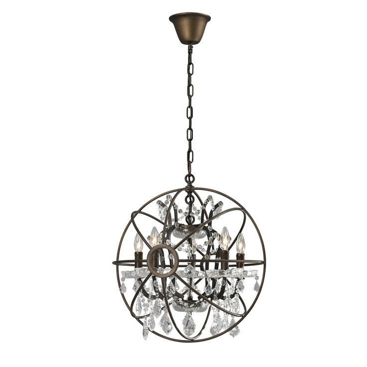 orb chandelier 20 5 by cdi furniture 549