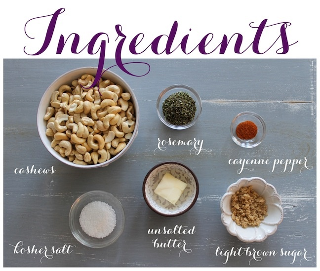 Linen, Lace, & Love: Rosemary Cashews | recipes | Pinterest