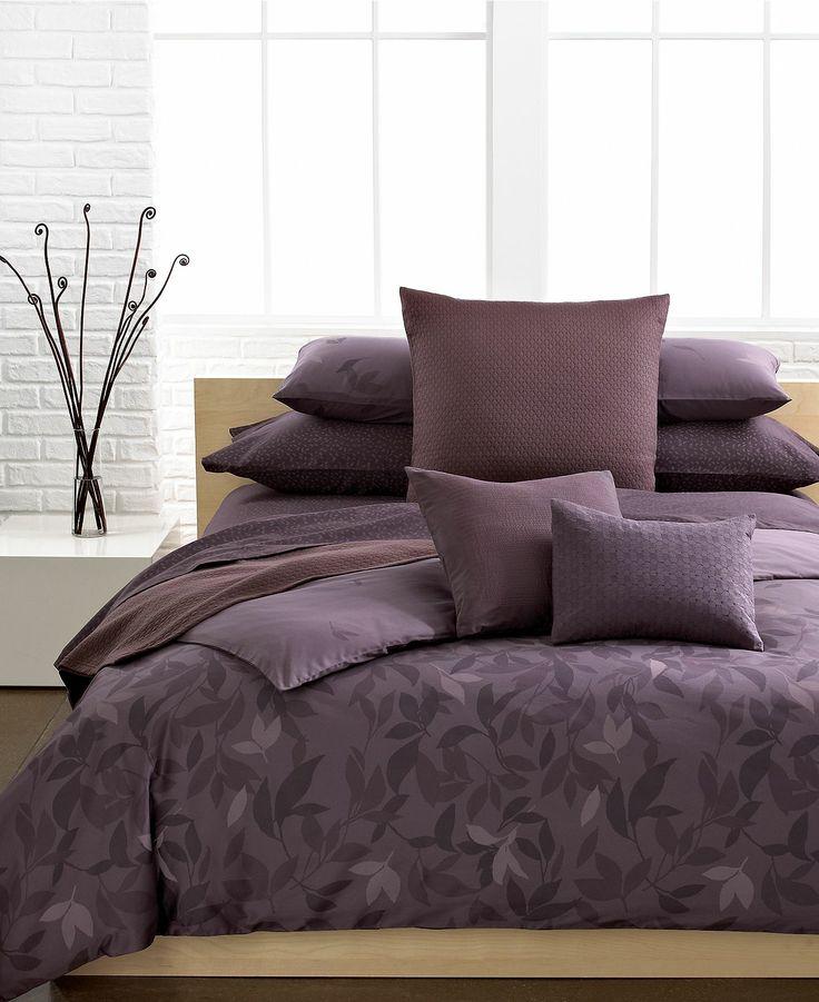 Calvin klein elm comforter and duvet cover sets Calvin klein bedding