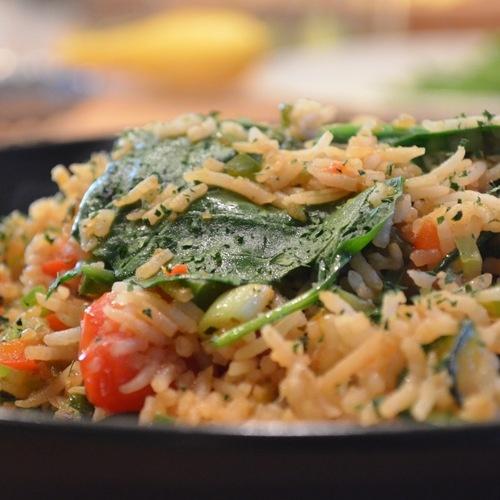 Vegetarian Dirty rice (Brown Sugar Kitchen)