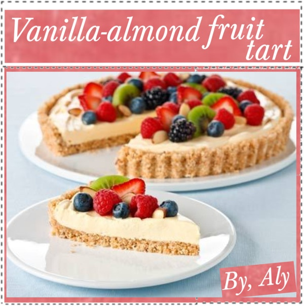 Vanilla And Almond Fresh Fruit Tart Recipe — Dishmaps