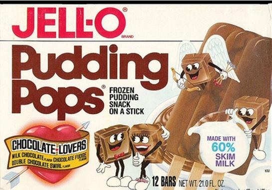 Jell-O Pudding Pops... Chocolate Vanilla Swirl was my favorite