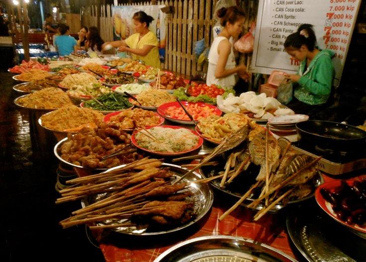 Laos street food vietnam laos 2013 pinterest for Ano thai lao cuisine