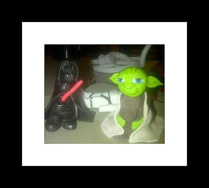 Star wars cake and characters | Cakes | Pinterest