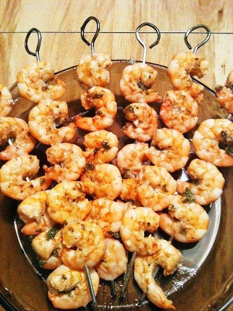 marinated grilled shrimp | Yummy | Pinterest