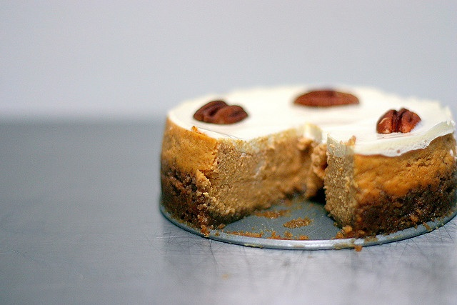 Bourbon Pumpkin Cheesecake - I look forward to the fall just so I can ...