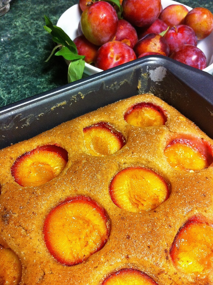 DIMPLY PLUM CAKE Thank you for the recipe, Dorie Greenspan! For the ...