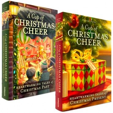 A Cup of Christmas Cheer Volume 3 & 4 is available now as a 2-volume set from @GuidepostsBooks at this special link https://www.shopguideposts.org/christmascheerblog