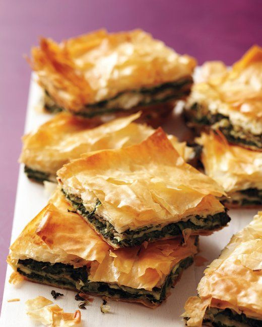 Spinach and Cheese Spanakopita Recipe ☆