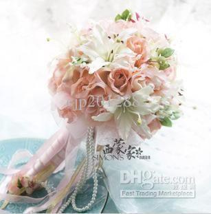 Wholesale Wedding Bouquet Buy Artificial Flowers Silk Flower Bridal