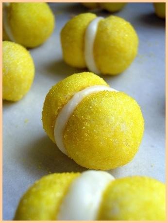 Lemon Sandwich Cookies | Recipes | Pinterest