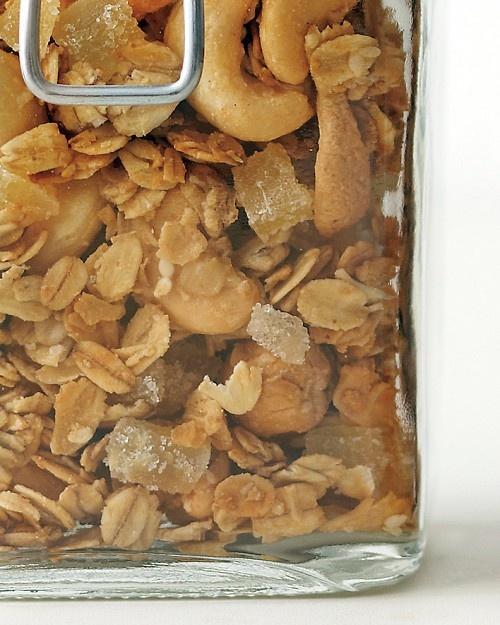 Cashew-Ginger Granola - Martha Stewart Recipes
