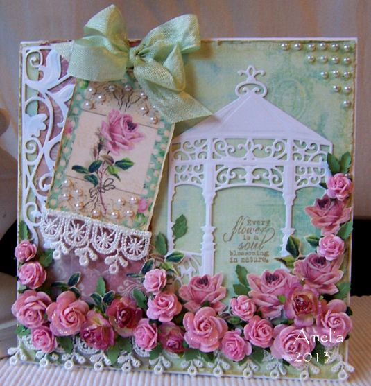 from Spellbinders - Cards by Amelia at Stamped for the Occasion