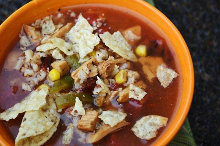 Chicken Fajita Soup | Soup|Stew|Chowder|Chili|Gumbo | Pinterest