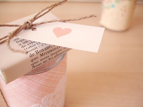Print a poem or your favorite page from a novel, and wrap it around a gift.