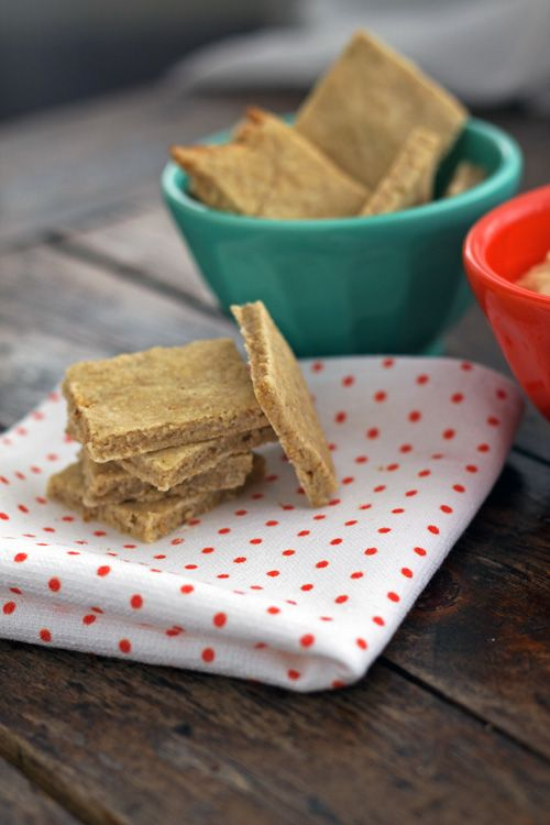 Oatmeal Sesame Seed Crackers | a Love a fare recipes | Pinterest
