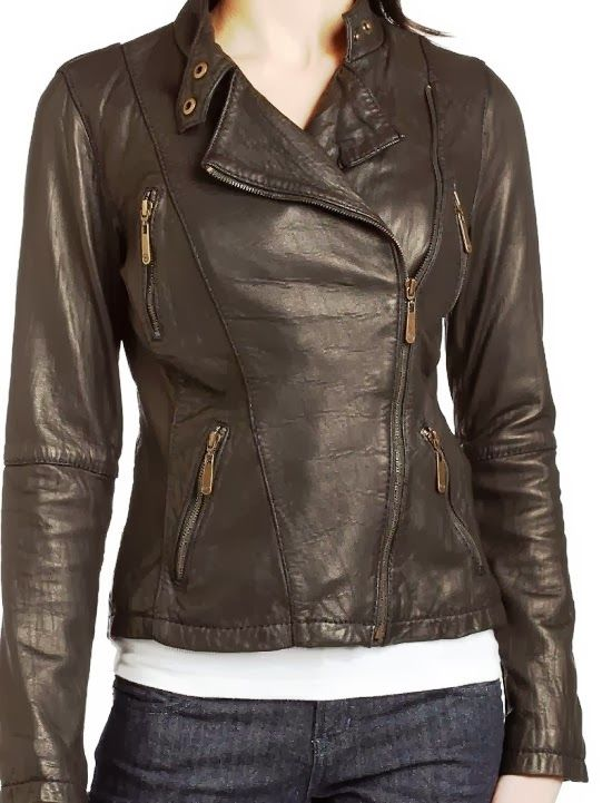 Simple Still Gorgeous Black Leather Jacket