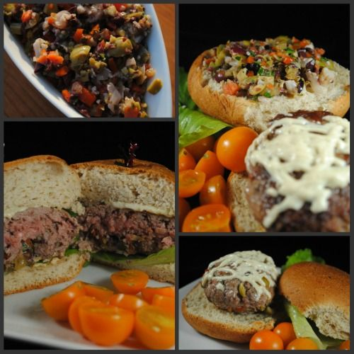 Muffaletta Burger Recipe With Lindsay Olives