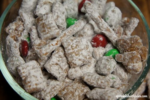 Reindeer Chow | Sweeties recipes | Pinterest