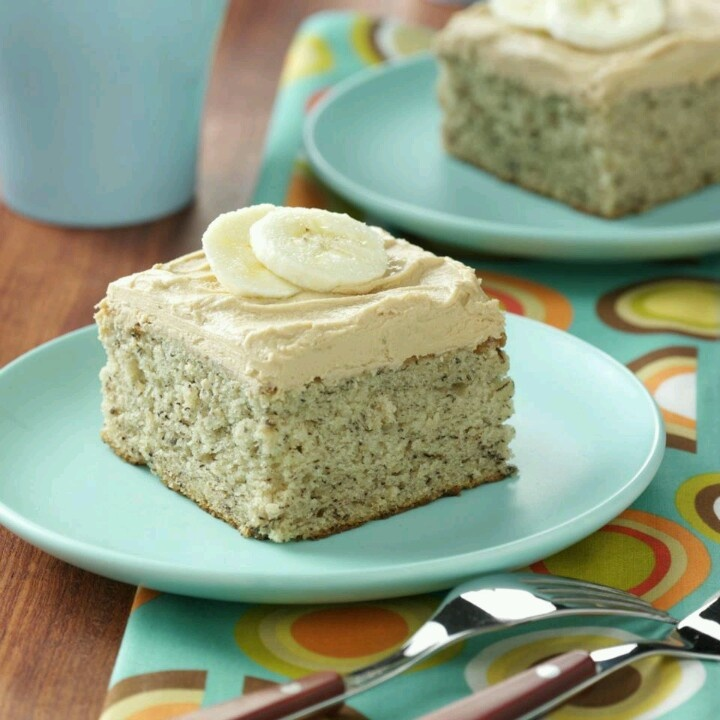 Southern Banana Cake With Coffee Icing Together With Banana Cakes As ...