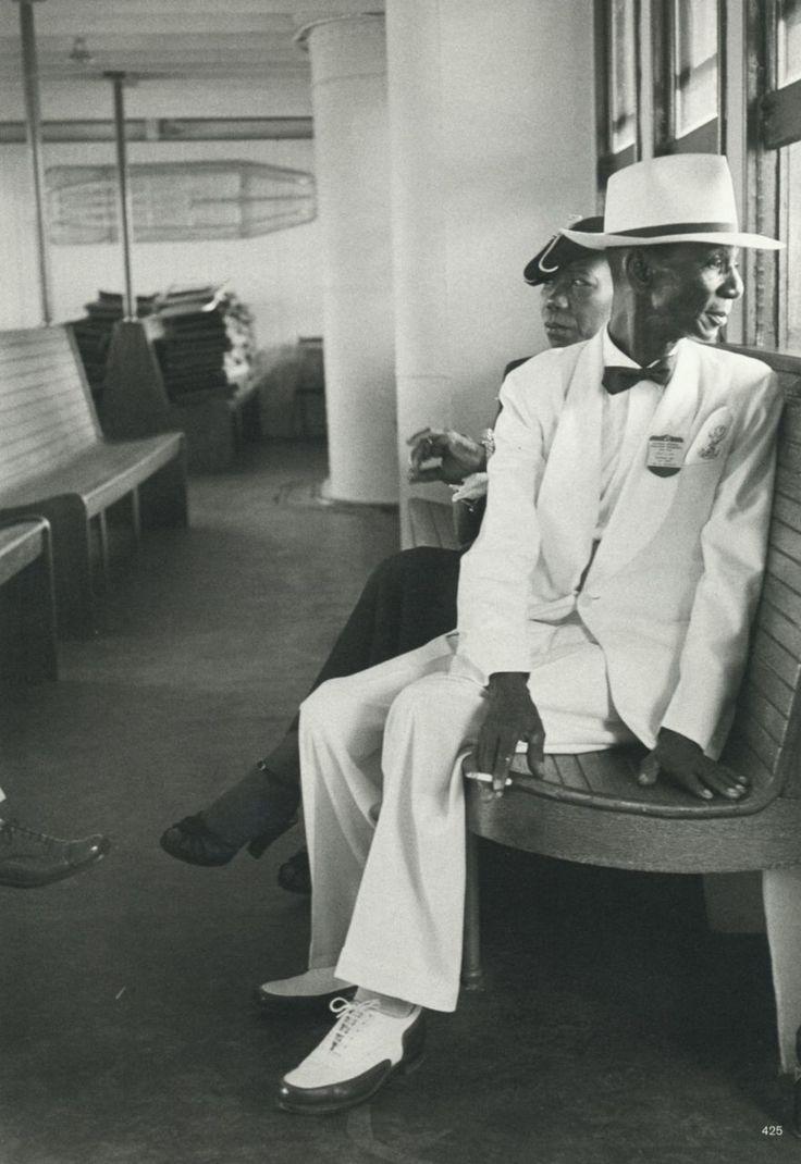 Werner Bischof  Man in white suit  Panama, 1954  From Werner Bischof Pictures
