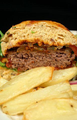 Jamaican Jerk Burger | Recipe International