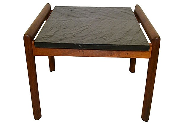 Slate top coffee table apartment 1205 pinterest