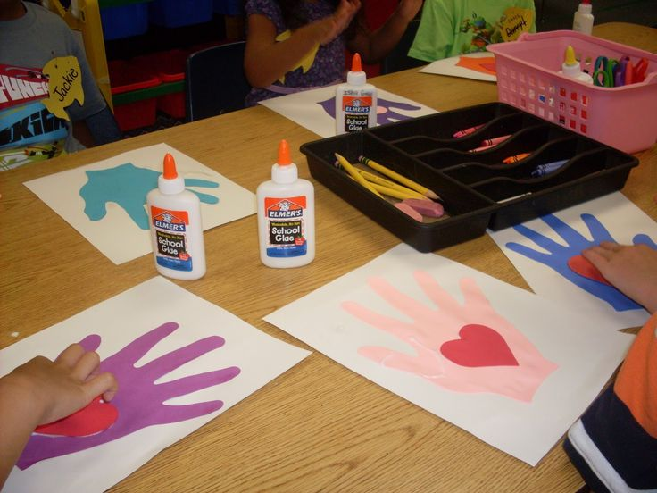 Kissing Hand - first day of school activity