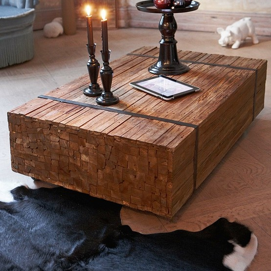 Cool Coffee Table For Log Home Design Pinterest
