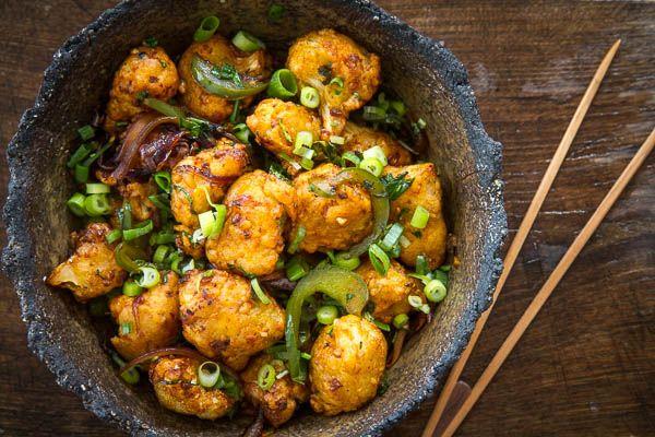 Gobi(Cauliflower) Manchurian | Veggies | Pinterest