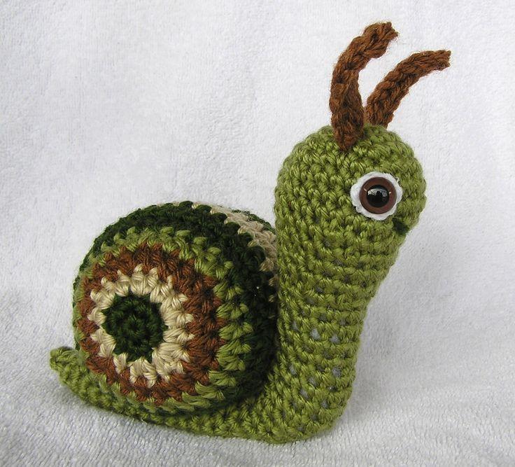 Crochet Quail Pattern : Suzie snail pdf crochet pattern
