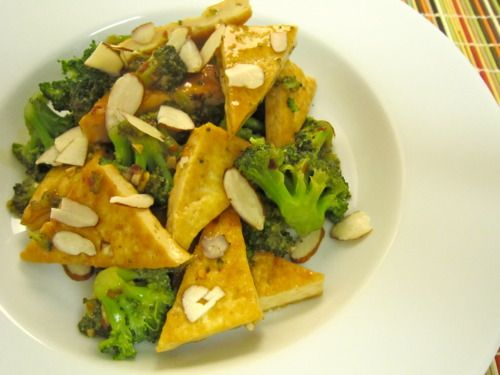 Tofu and Broccoli Stir Fry | Asian Main Course | Pinterest