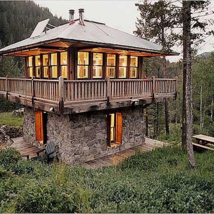 Log Cabin Builder Tower Log Cabin Ideas For When I