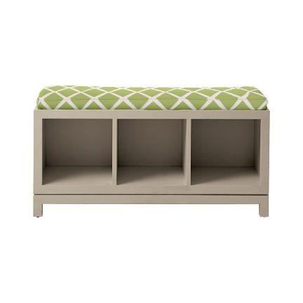 Storage Bench For Toys Reading Books Kitchen Entryway Decor Pint