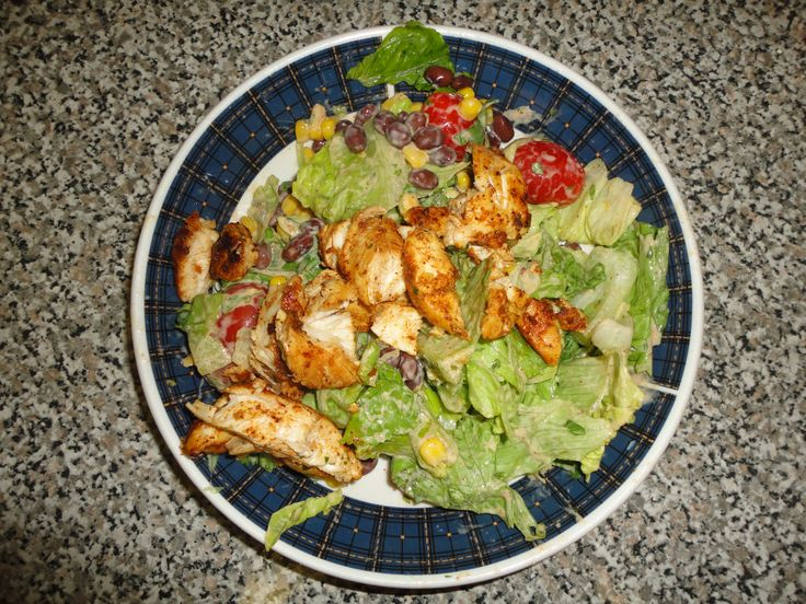 Cilantro lime chicken salad | lunch ideas | Pinterest