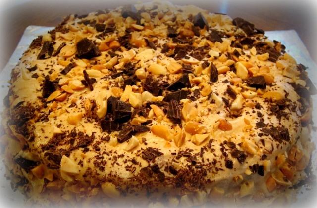 Chocolate-Peanut Butter Fun Cake! | Yummy | Pinterest