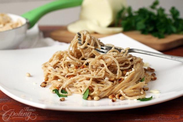 Pasta ai Quattro Formaggi (Four Cheese Whole Wheat Pasta) | Recipe